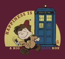 Happiness is a BIG BLUE BOX- REMIX by BraveAnderson