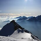 Bishorn Ascent, Switzerland by ScotLandscapes