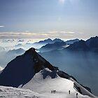 Bishorn Ascent, Switzerland by ScotLandscapes