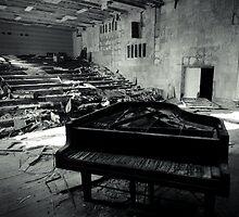 Piano ~ Pripyat  by Josephine Pugh