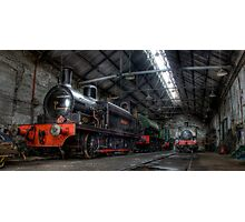 Tanfield Trains Photographic Print