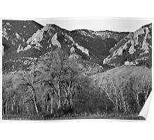 Boulder Colorado Front Range NCAR View Poster