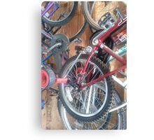 Ready for a Bike Ride? Canvas Print