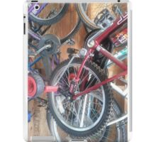 Ready for a Bike Ride? iPad Case/Skin