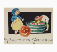 Little Zombie Tommy  (Vintage Halloween Card) by Welte Arts & Trumpery