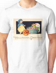 Little Zombie Tommy  (Vintage Halloween Card) Unisex T-Shirt