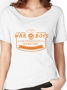 War Boys Auto Repair Women's Relaxed Fit T-Shirt
