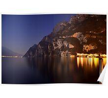 Il lago di notte Poster