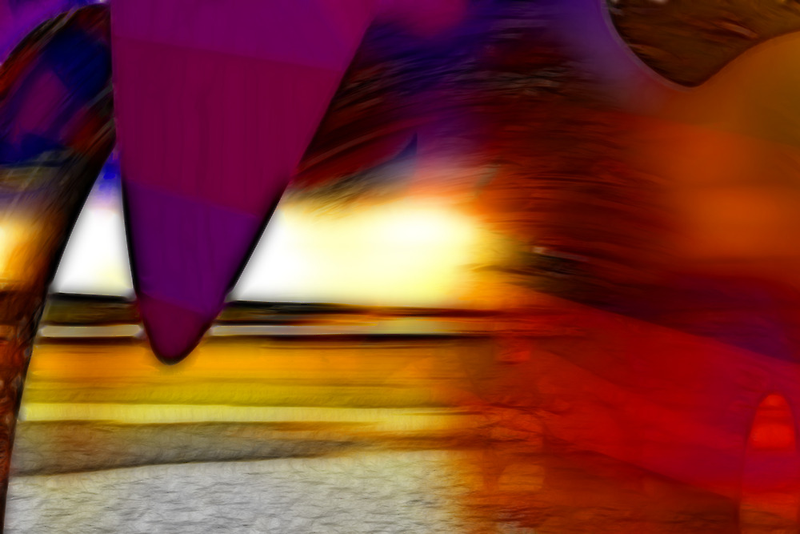 The irresistible sound of colours by Benedikt Amrhein