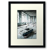 Scrapyard ~ Pripyat  Framed Print