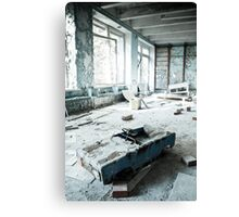 Scrapyard ~ Pripyat  Canvas Print