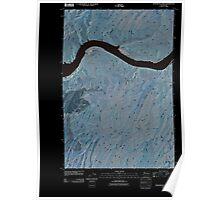 USGS Topo Map Washington State WA Monumental Rock 20110404 TM Inverted Poster