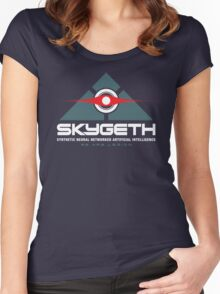 SKYGETH Women's Fitted Scoop T-Shirt