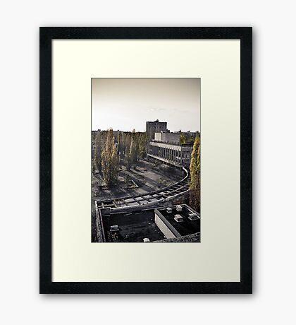 Pripyat: Model City  Framed Print