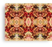 Fire Kaleidoscope Canvas Print