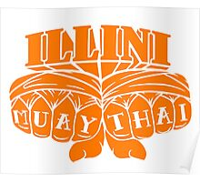 Illini Muay Thai - Fists Poster