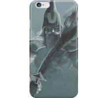 fog sword warrior iPhone Case/Skin