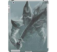 fog sword warrior iPad Case/Skin