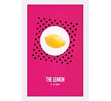 Cabin Pressure: The Lemon is in Play Photographic Print