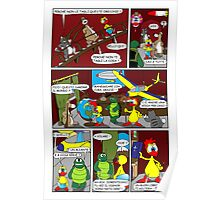 "Rick the chick  ""THE MAGIC SHELL (ITALIANO) parte 13"" Poster"