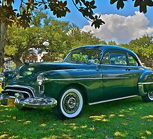 Emerald Oldsmobile Under the Magnolias by Mike Capone