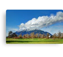 The Perfect Back Yard Canvas Print