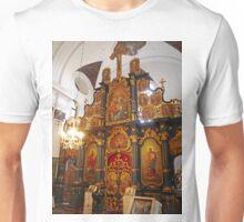 Iconostasis in Blagovestenska Church Unisex T-Shirt