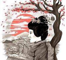 geisha by motymotymoty