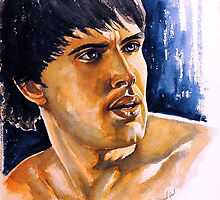 Colin Morgan, featured in Art Universe, Shameless Self-Promotion by Françoise  Dugourd-Caput
