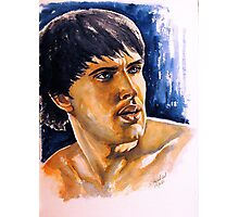 Colin Morgan, featured in Art Universe, Shameless Self-Promotion Photographic Print