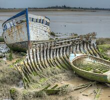 Old Ship by Thasan