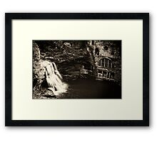 The Old Power Plant Framed Print
