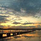 Serene Central Coast Sunset by George Petrovsky