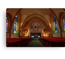 St. Mary HDR Canvas Print
