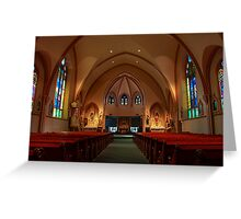 St. Mary HDR Greeting Card