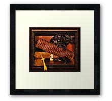 Oriental still life Framed Print