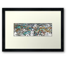 Changing Faces Framed Print