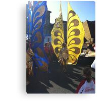 Carnival Butterfly Canvas Print