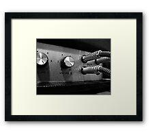 Marshall Amp #2 Framed Print