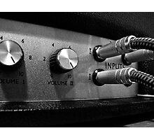 Marshall Amp #2 Photographic Print