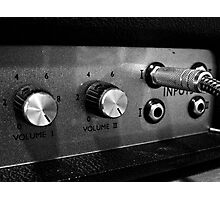 Marshall Amp #1 Photographic Print