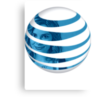 The AT&T of People Canvas Print