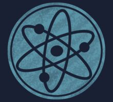 Distressed Big Bang Theory Atom by Jonathan Carre