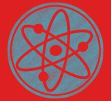 Distressed Big Bang Theory Atom Kids Clothes