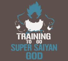 Training to go Super Saiyan GOD DBZ Dragon Ball Z Kids Clothes