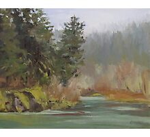 Winter at Swiftwater Photographic Print