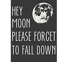 hey moon Photographic Print