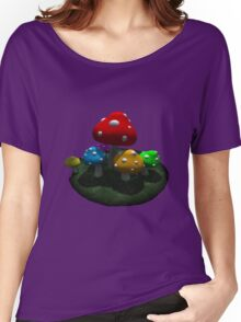 Mushroom Women's Relaxed Fit T-Shirt