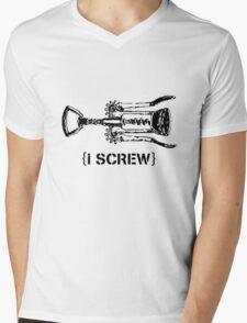 i screw  Mens V-Neck T-Shirt