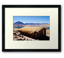 Lake Miscanti Framed Print